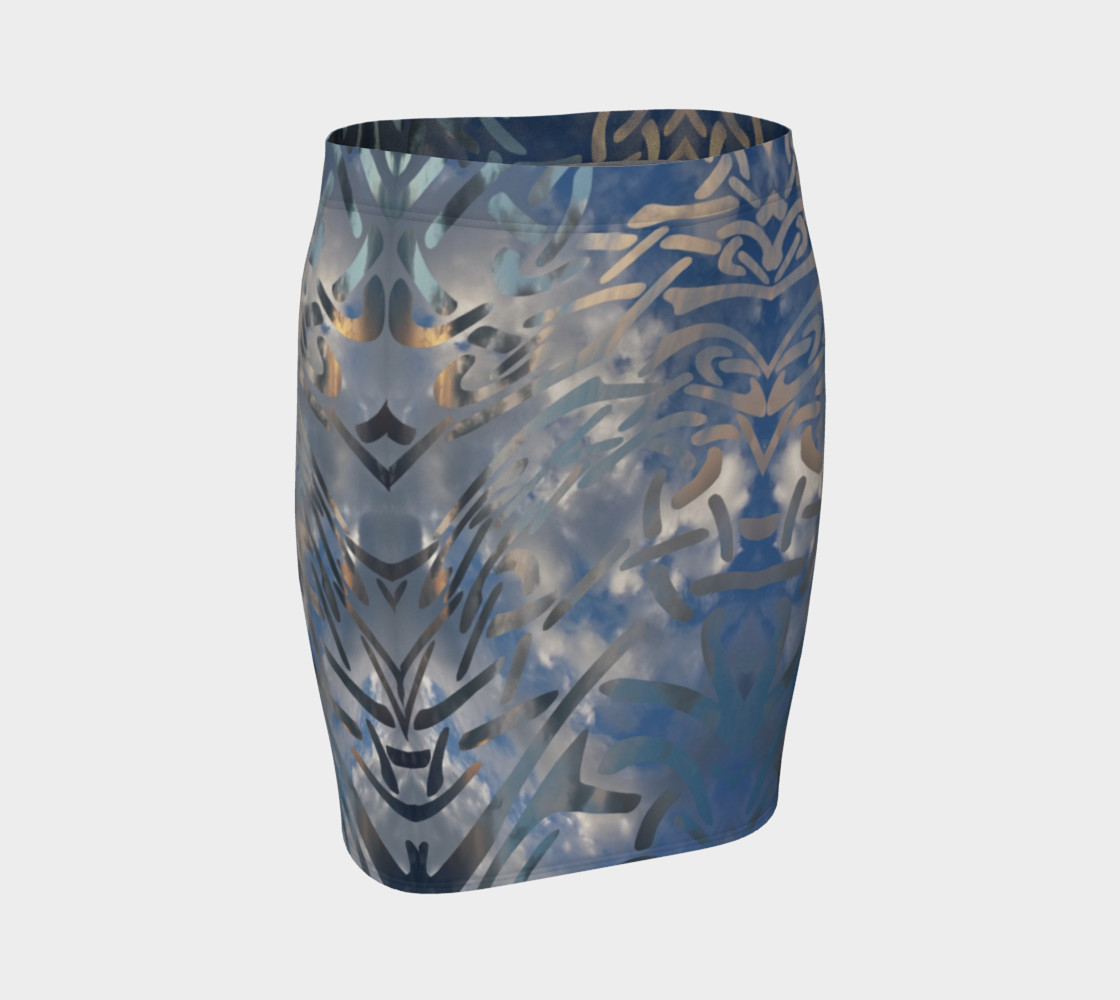 Rocky Mountain Celtic Cloud Dance Fitted Skirt preview #1