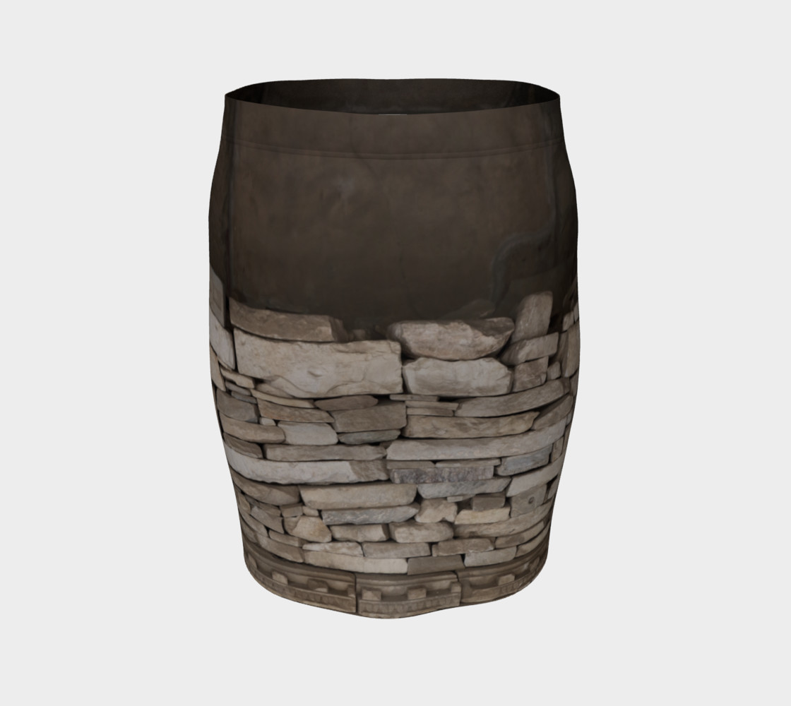 Textural Antiquities Herculaneum Five Fitted Skirt preview #4