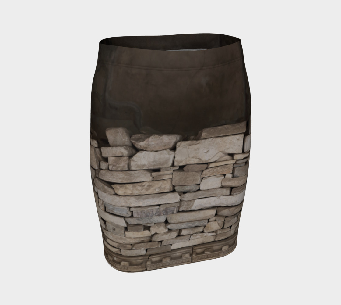 Textural Antiquities Herculaneum Five Fitted Skirt preview #1
