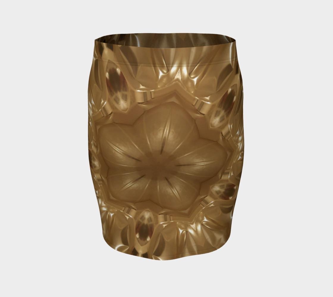 Aperçu de Elegant Gold Brown Shimmering Star #4