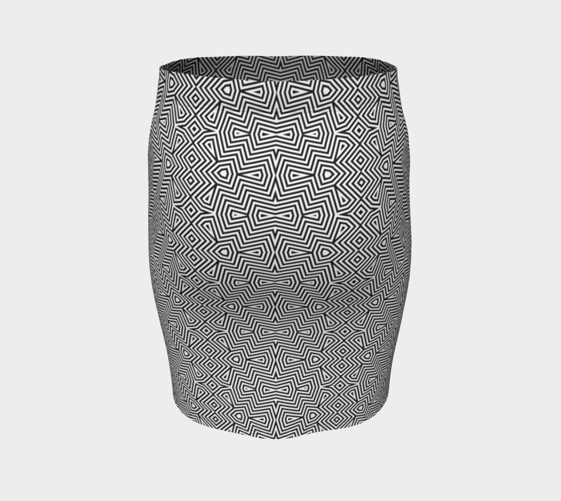 Aperçu de Optical art monochrome pattern #4