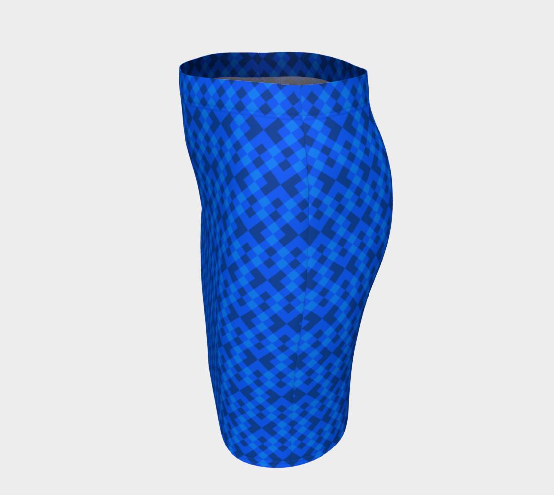 Aperçu de Hypnotic blue pattern #2