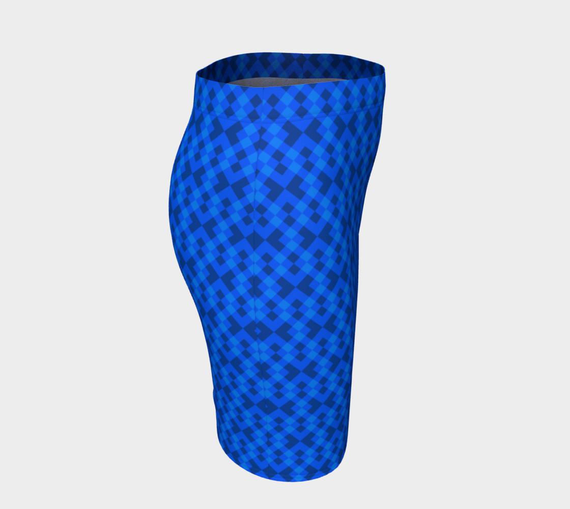 Aperçu de Hypnotic blue pattern #3