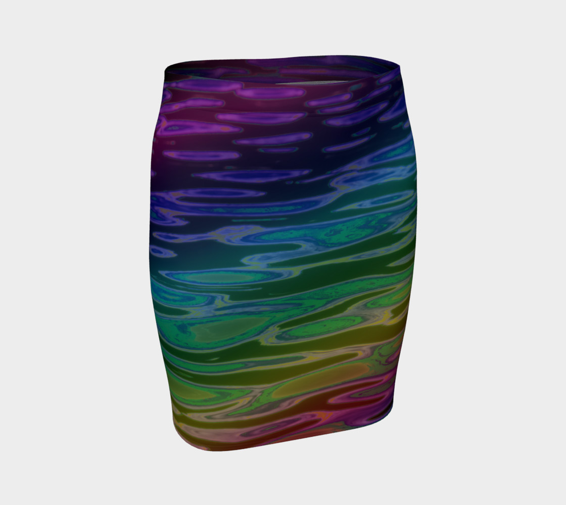 ColorWave Skirt preview #1