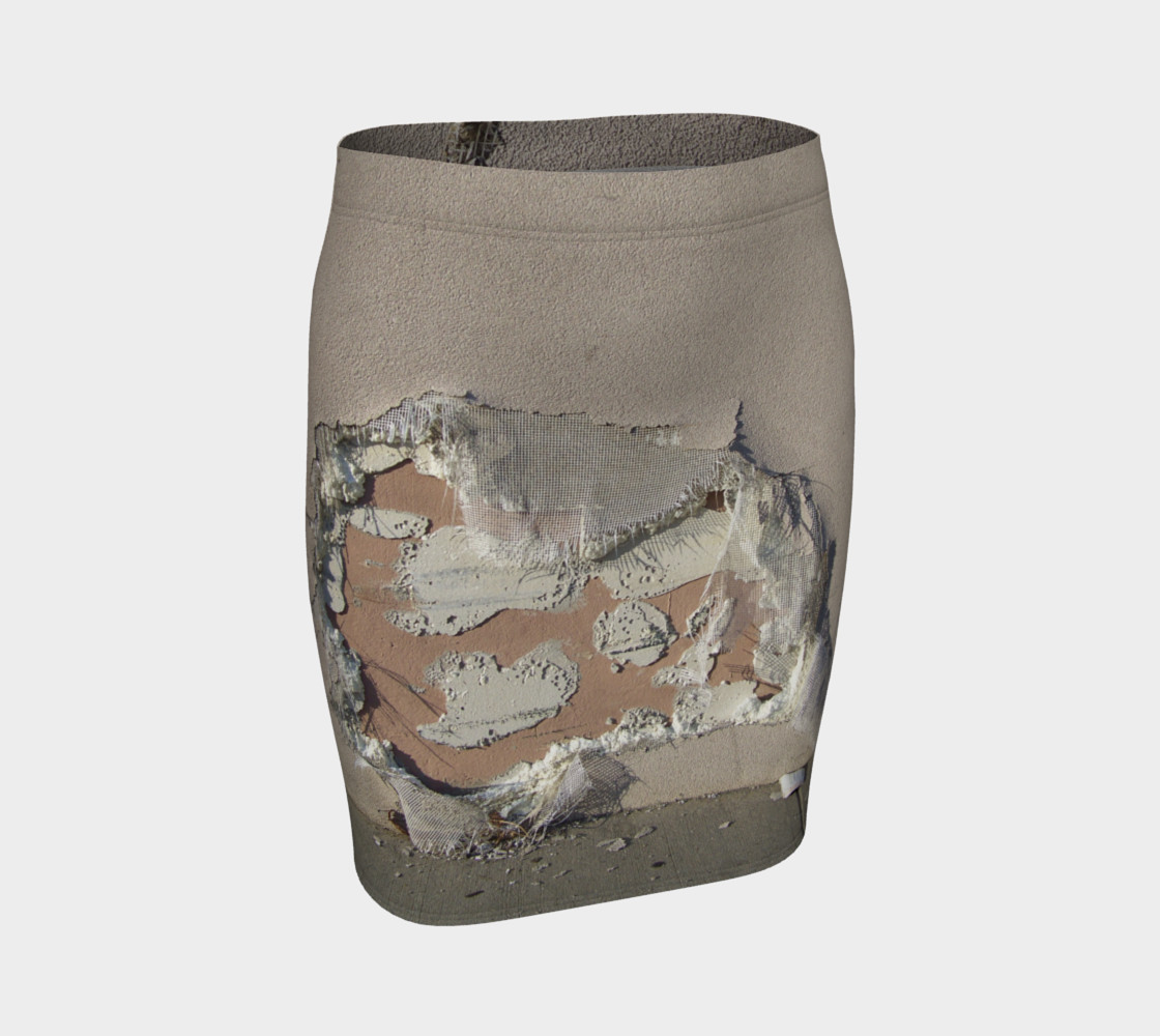 """""""Torn Skirt"""" Optical Illusion Skirt preview #1"""