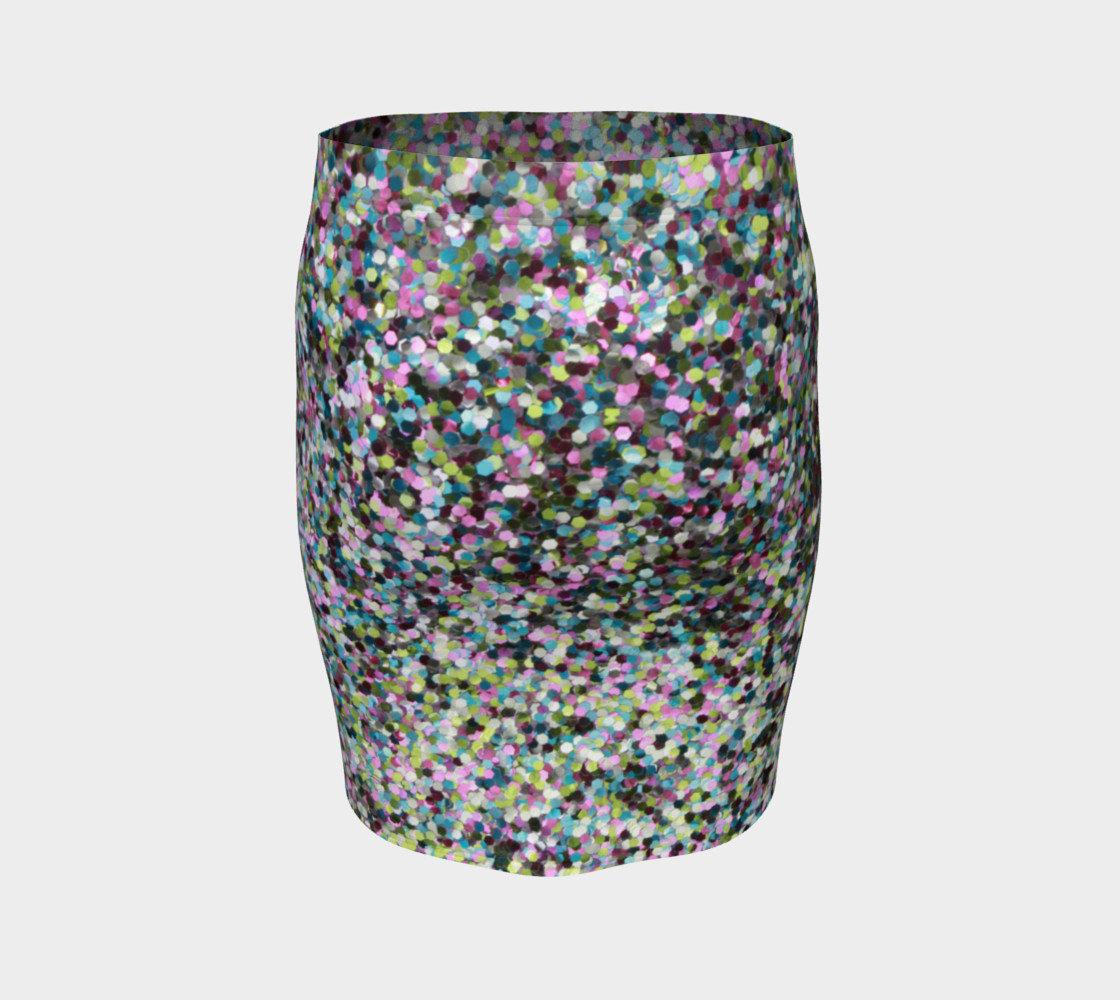 Fitted Skirt Glitters preview #4