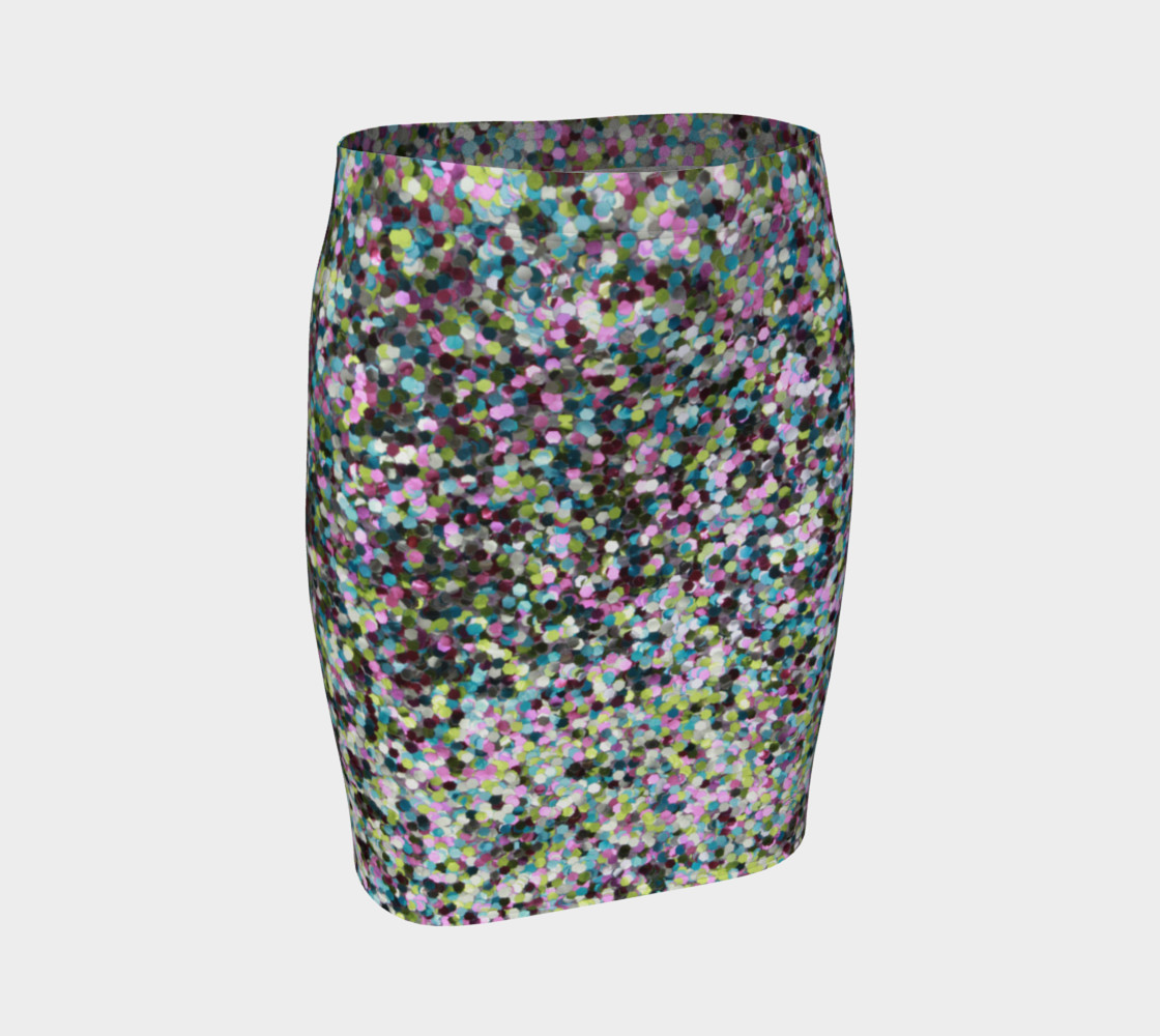 Fitted Skirt Glitters preview #1