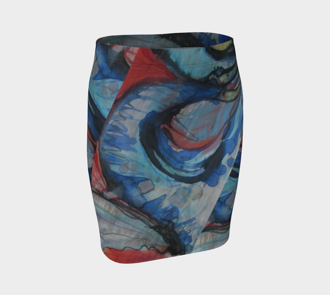 Aperçu de Flying Ocean Bomb Skirt #1