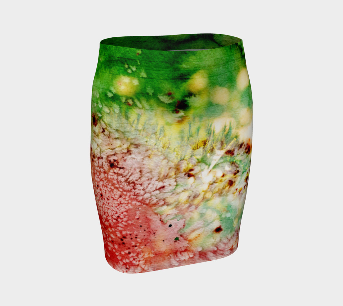 Watermelon Spin - Skirt preview #1