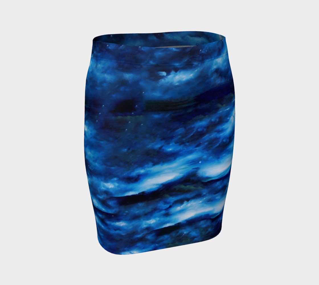 Dreamscape Fitted Skirt  preview #1