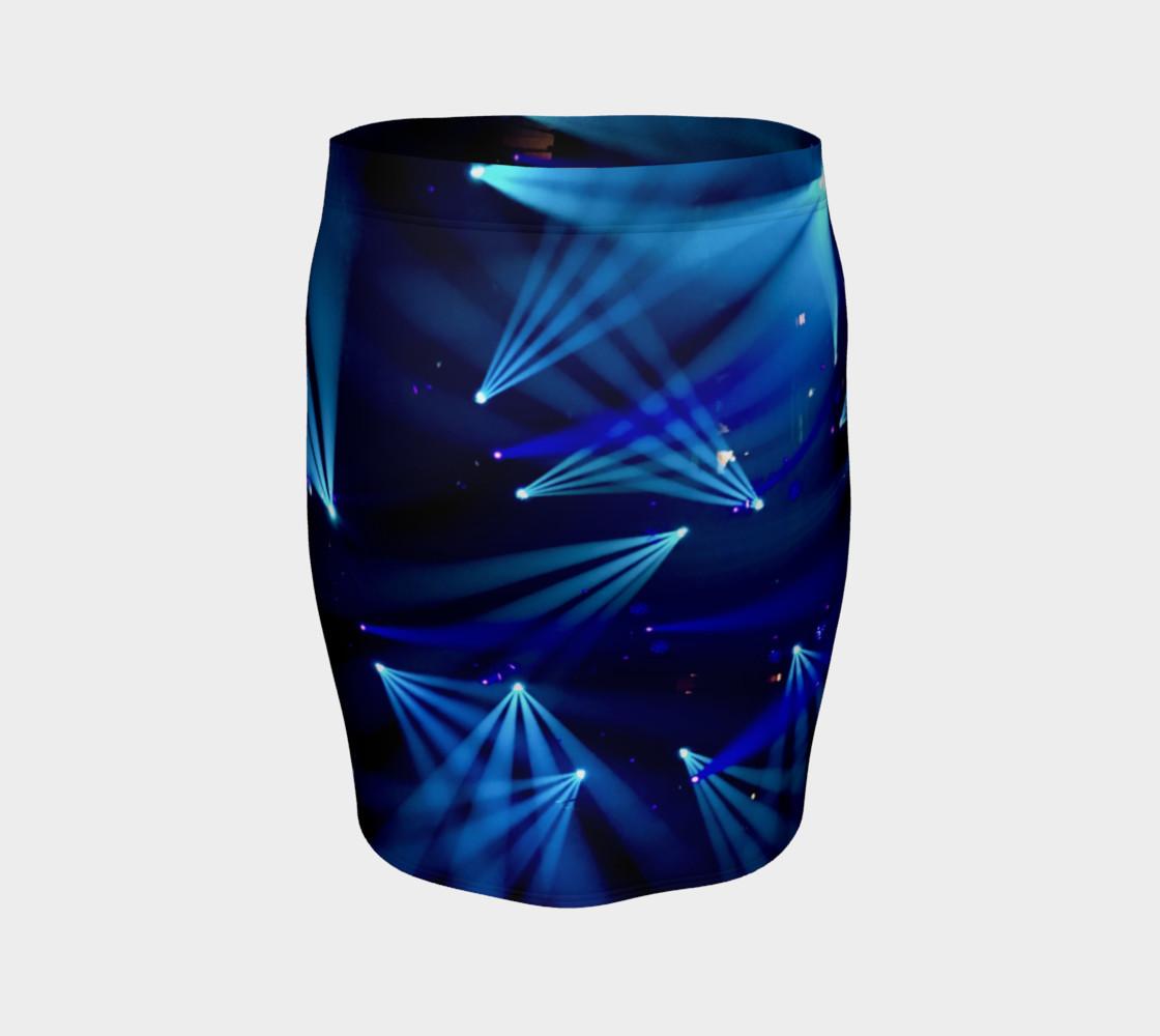 Becca Blue Starburst Tube Skirt preview #4