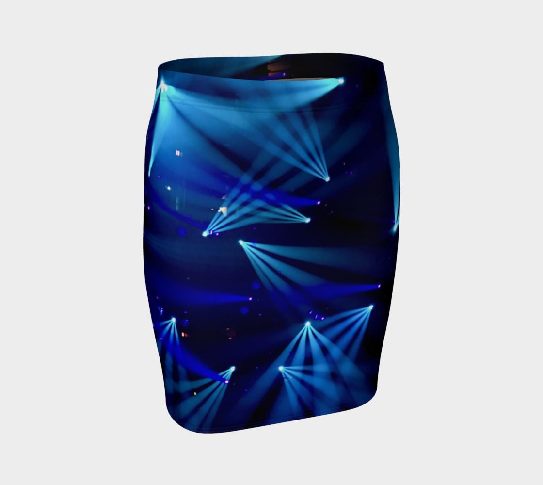 Becca Blue Starburst Tube Skirt preview #1