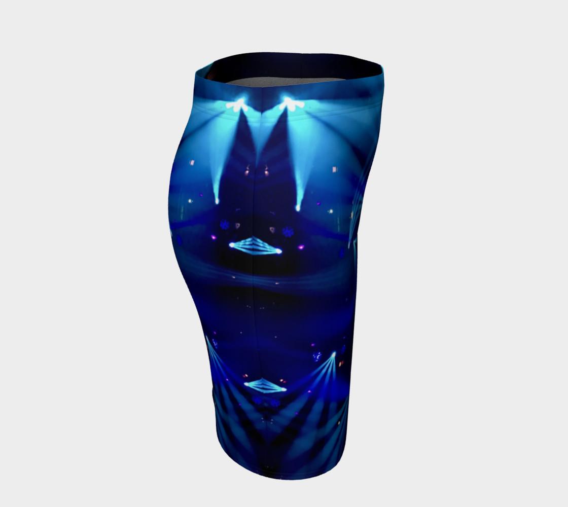 Becca Blue Starburst Tube Skirt preview #3