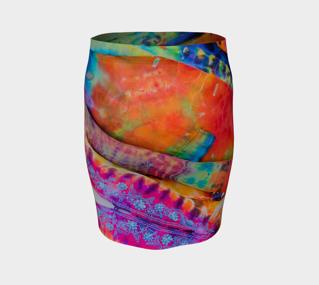 Funky Threads Fitted Skirt preview #4
