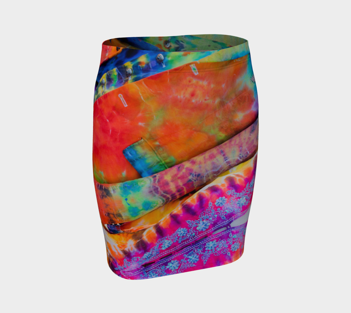 Funky Threads Fitted Skirt preview #1