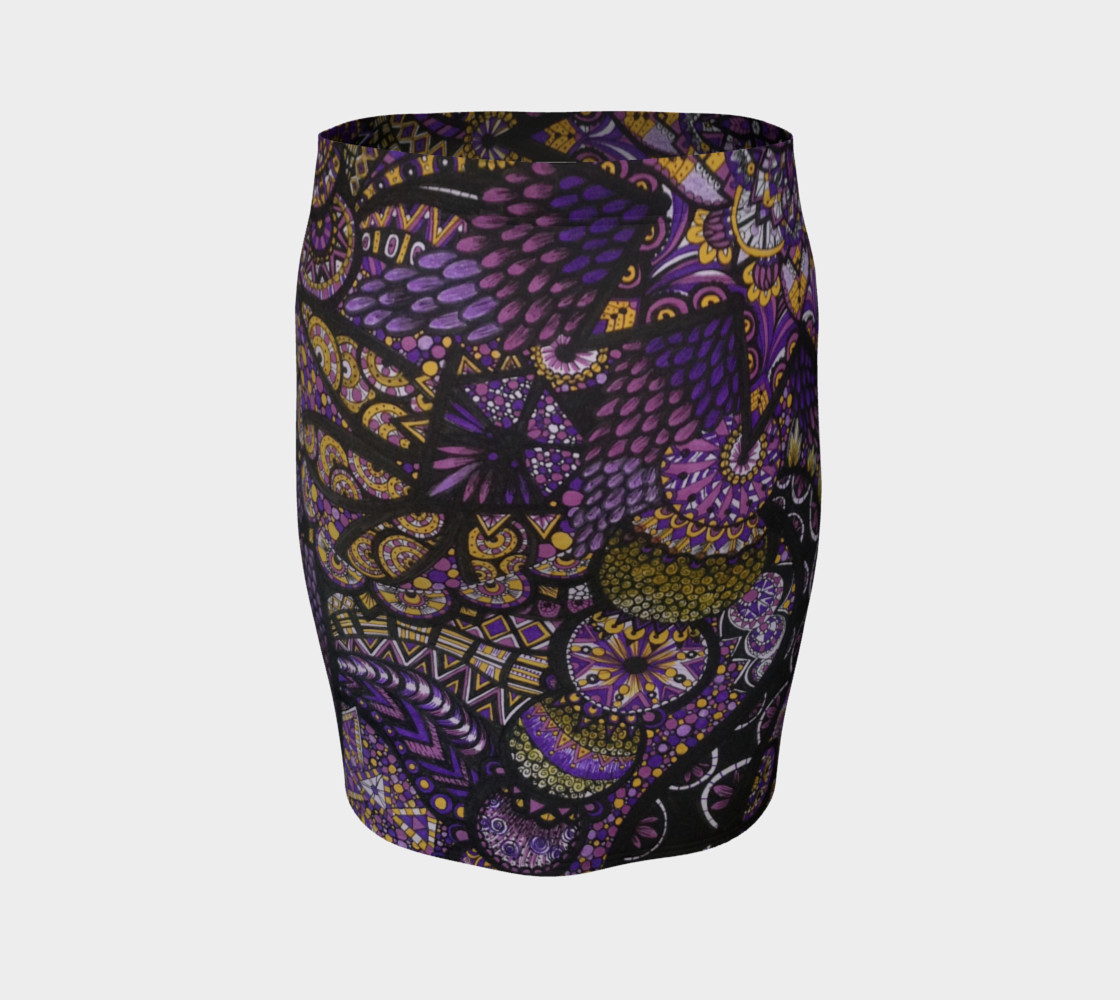 Purple Madness Skirt preview #4