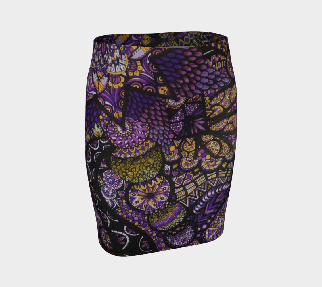 Purple Madness Skirt preview #1