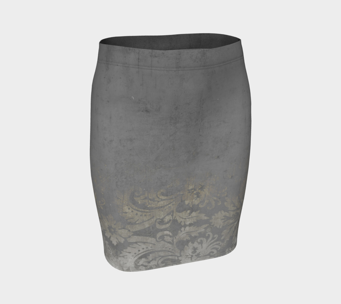 Grunge Baroque Damask preview #1