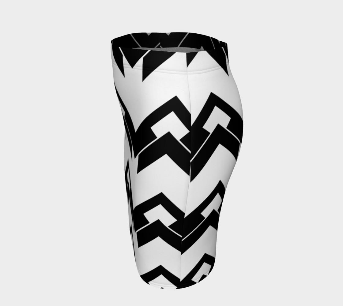 Chevron black and white preview #2