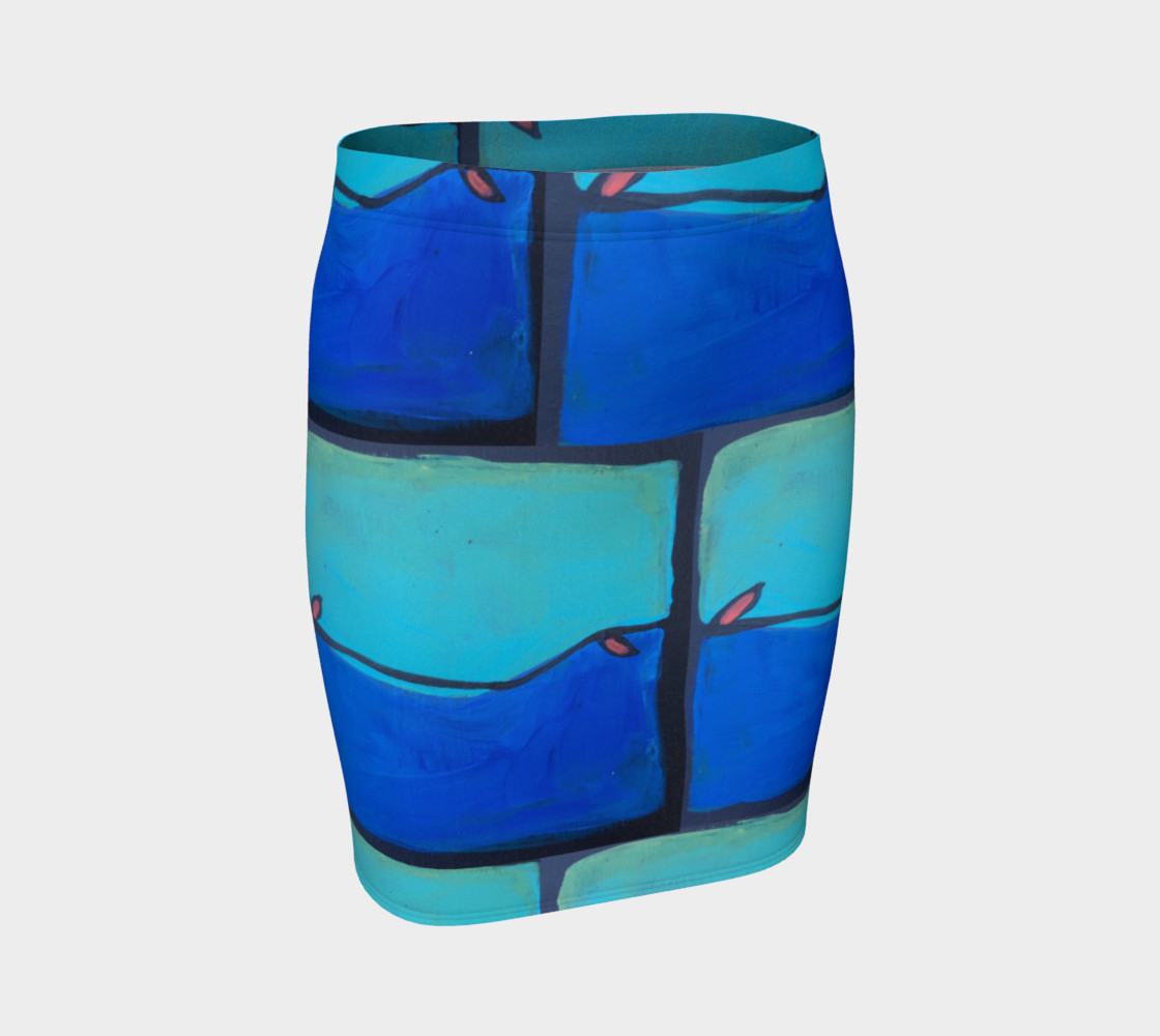 twisted vine pencil skirt preview #1