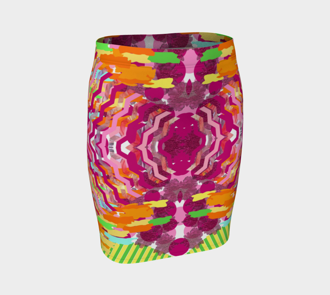Tacky 1 Fitted Skirt by KCS preview #1