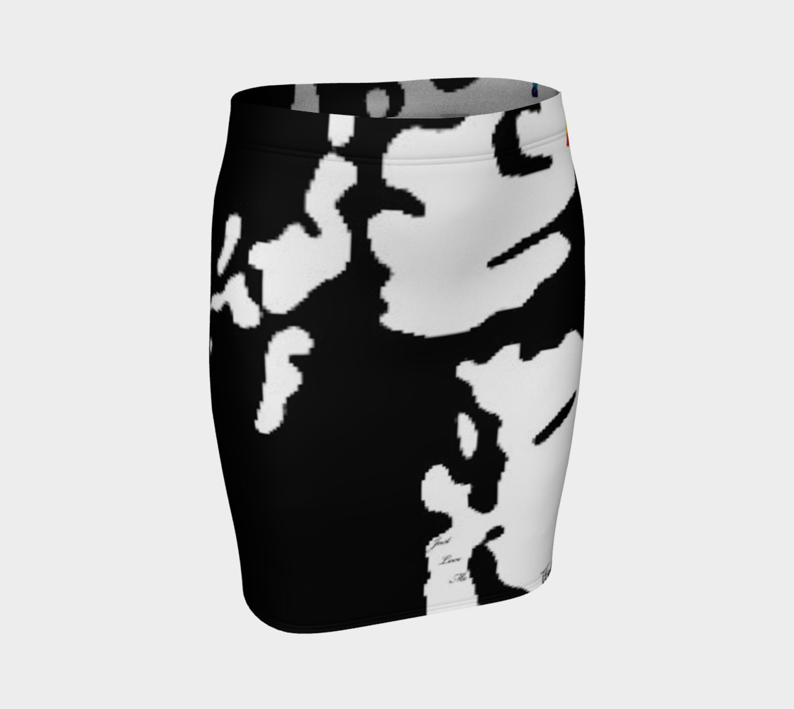 Self Love fitted skirt preview #1