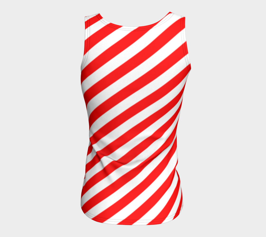 Mainz Carnival shirt, Carnival Tank Top,   Red and white striped shirt, Red and white striped tank top,  Red and white striped carnival shirt preview #6