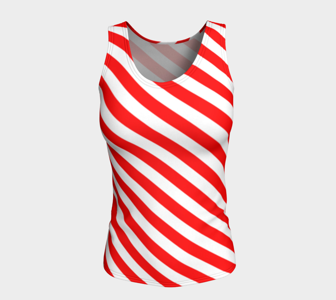 Mainz Carnival shirt, Carnival Tank Top,   Red and white striped shirt, Red and white striped tank top,  Red and white striped carnival shirt preview #5