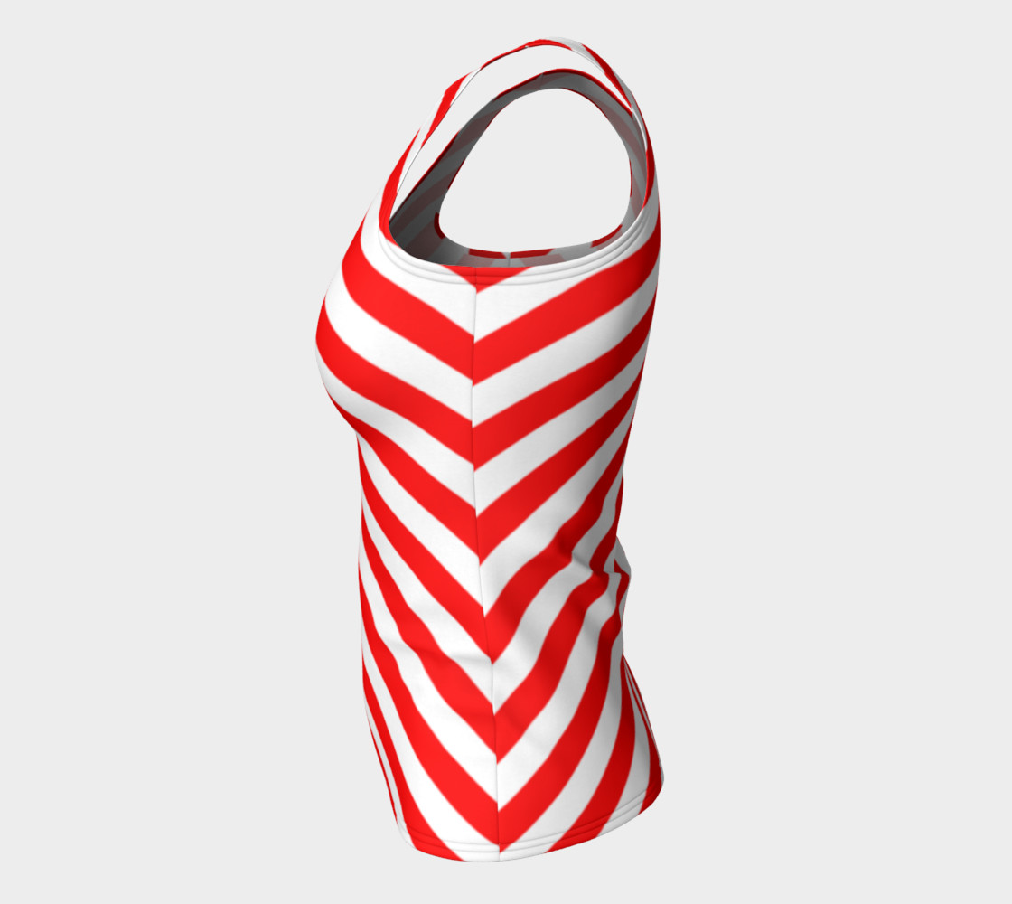 Mainz Carnival shirt, Carnival Tank Top,   Red and white striped shirt, Red and white striped tank top,  Red and white striped carnival shirt preview #7