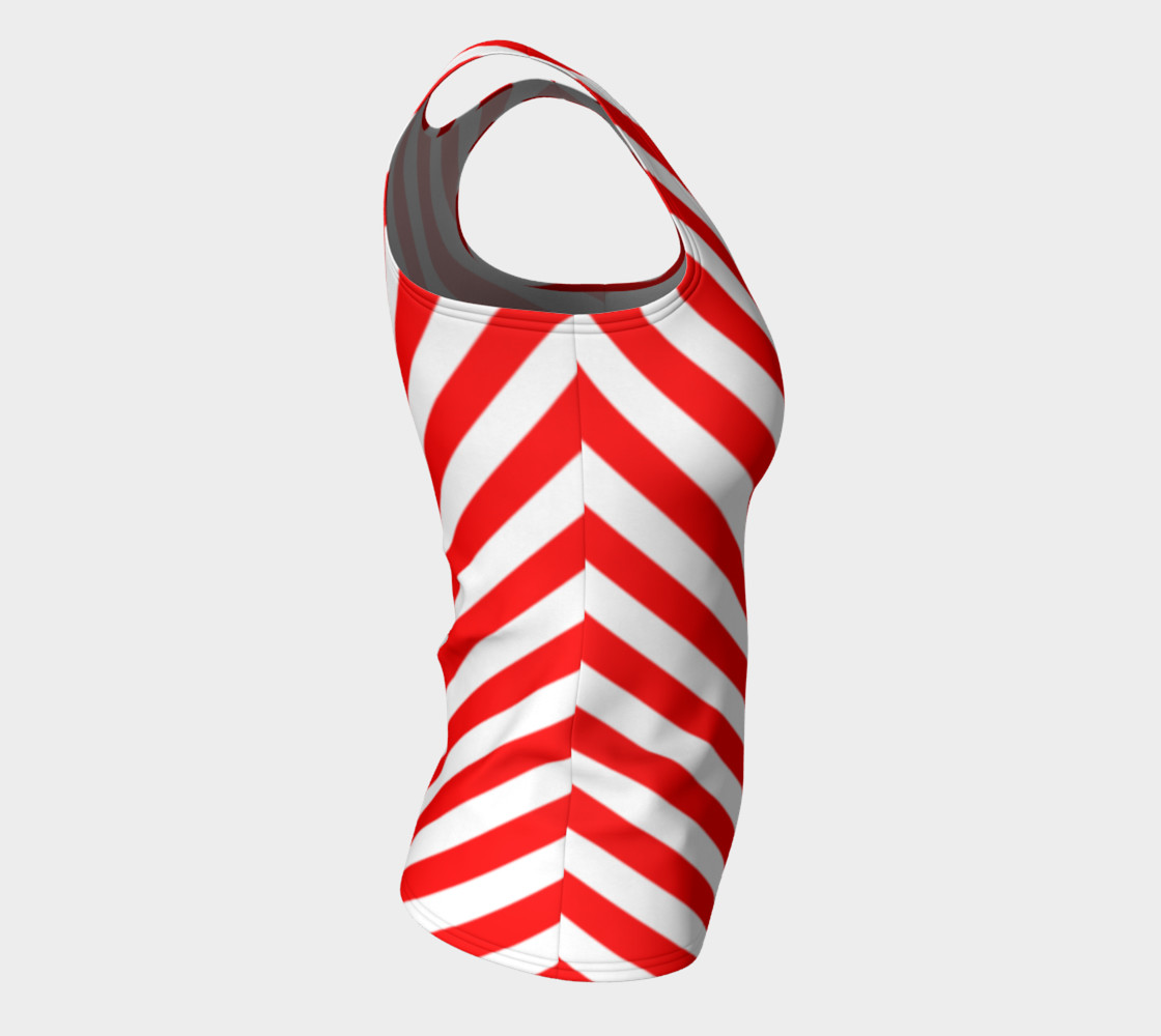 Mainz Carnival shirt, Carnival Tank Top,   Red and white striped shirt, Red and white striped tank top,  Red and white striped carnival shirt preview #8