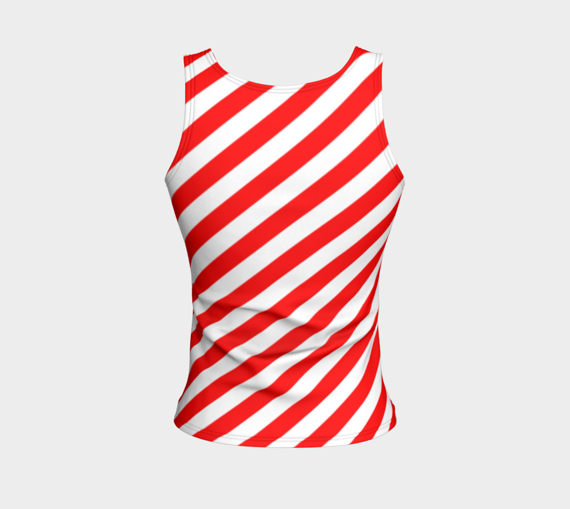 Mainz Carnival shirt, Carnival Tank Top,   Red and white striped shirt, Red and white striped tank top,  Red and white striped carnival shirt preview #2