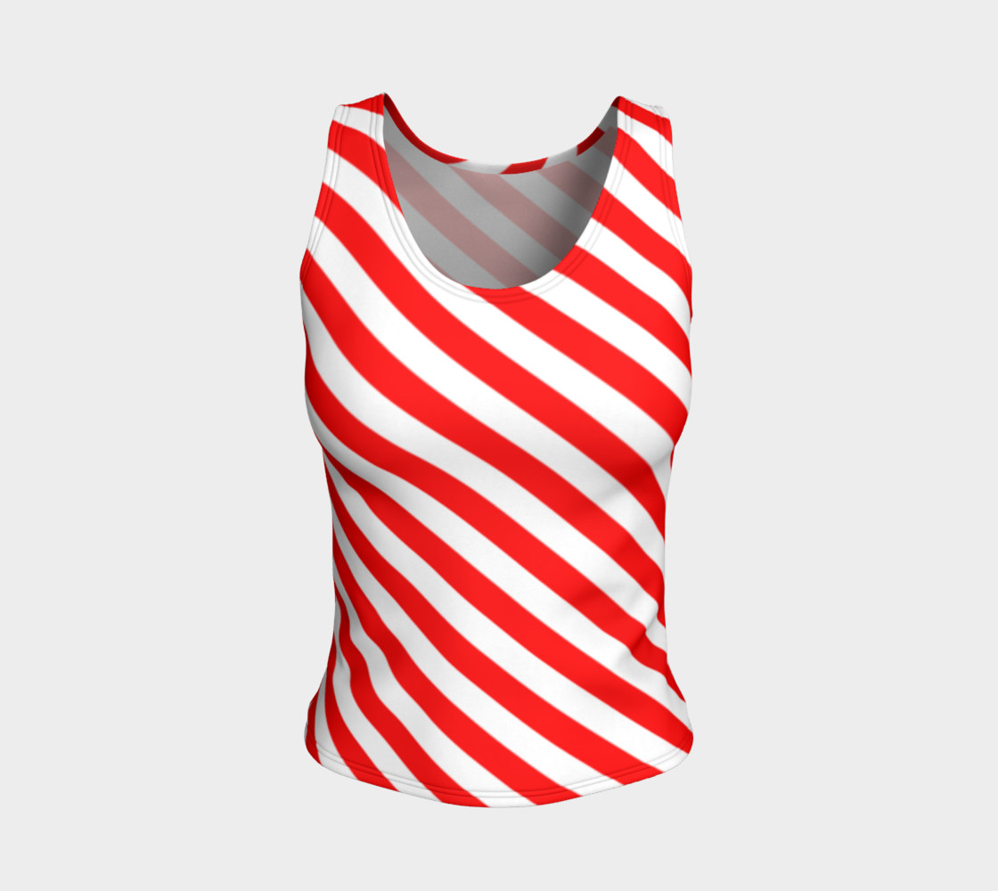 Mainz Carnival shirt, Carnival Tank Top,   Red and white striped shirt, Red and white striped tank top,  Red and white striped carnival shirt preview #1