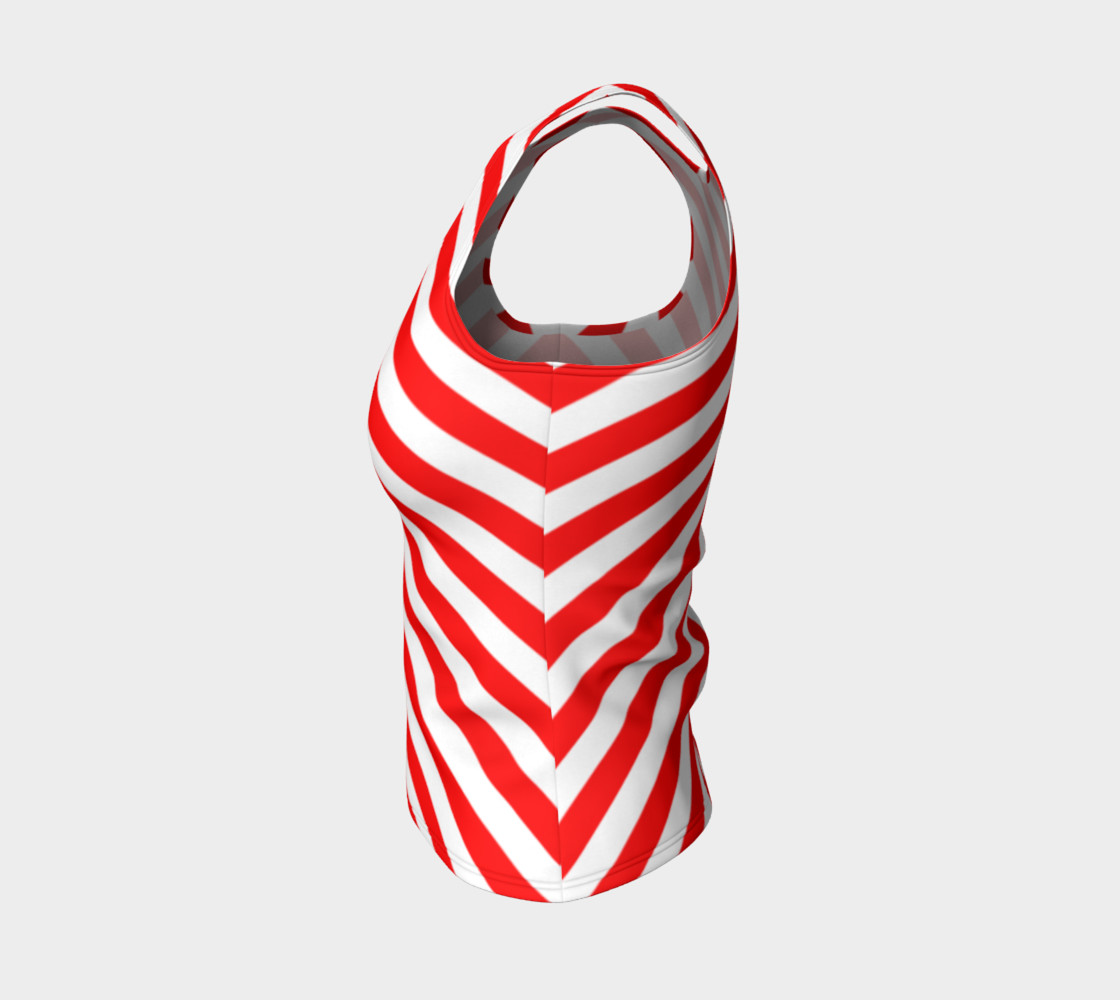 Mainz Carnival shirt, Carnival Tank Top,   Red and white striped shirt, Red and white striped tank top,  Red and white striped carnival shirt preview #3