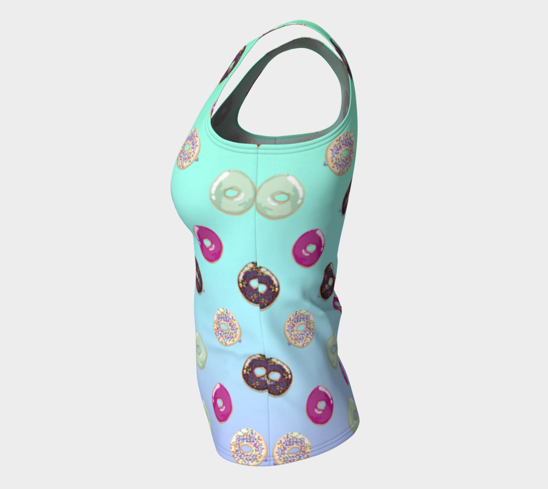 Donut fitted top preview #7
