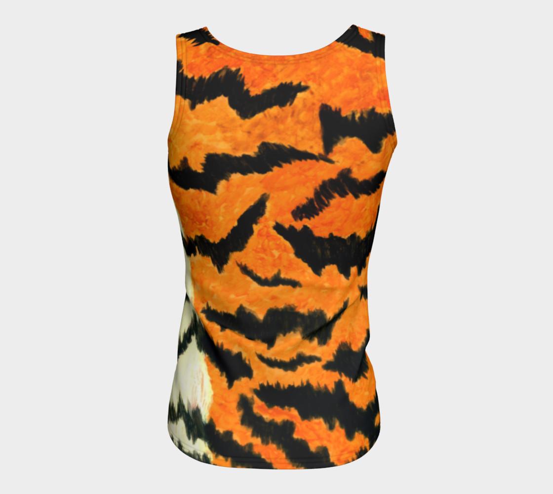 Orange tiger fur preview #6