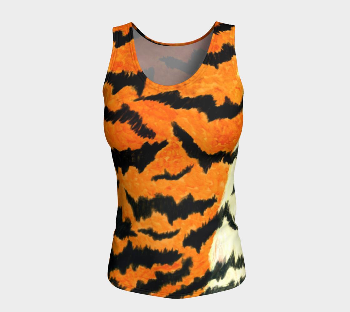 Orange tiger fur preview #5