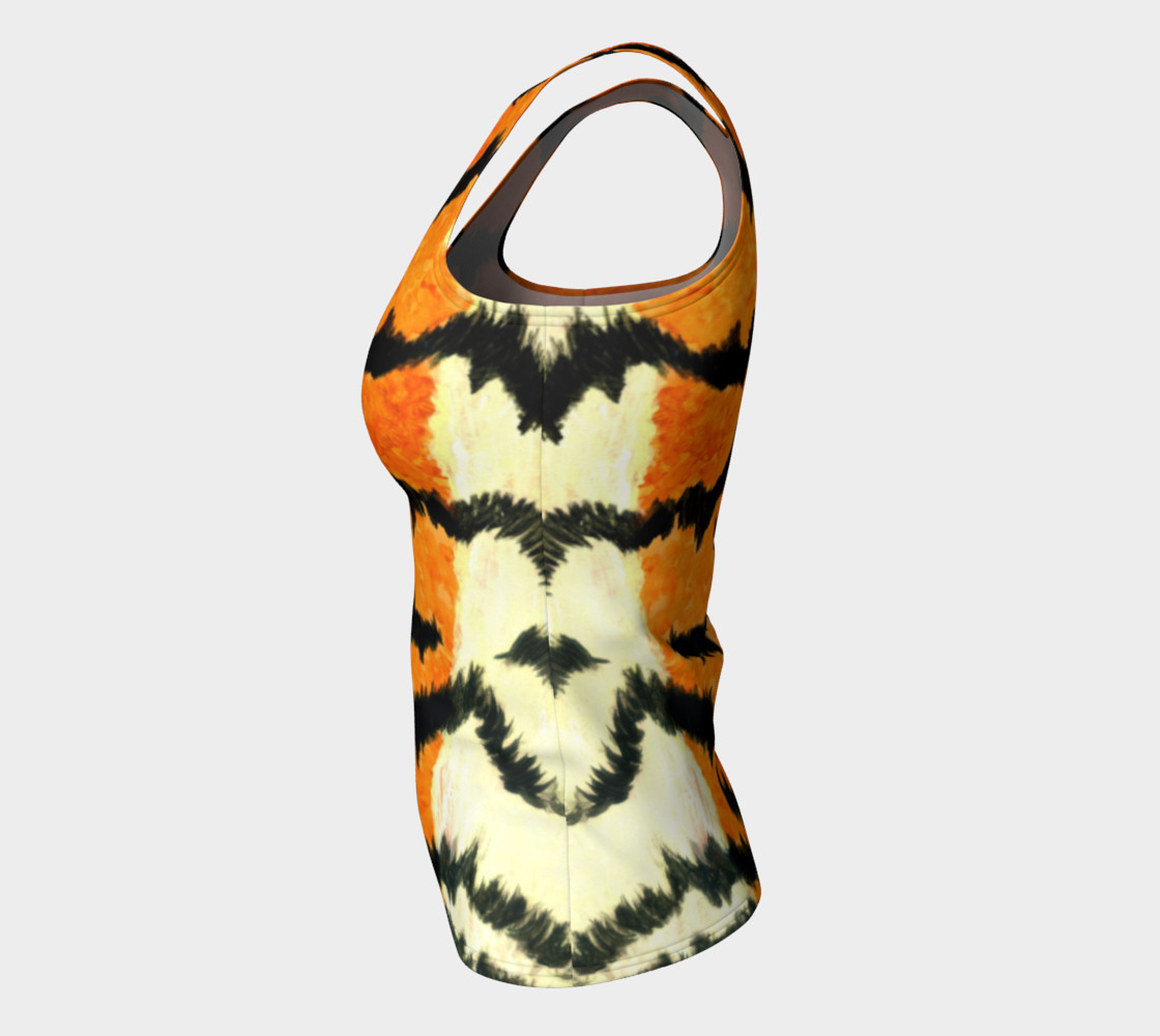 Orange tiger fur preview #7