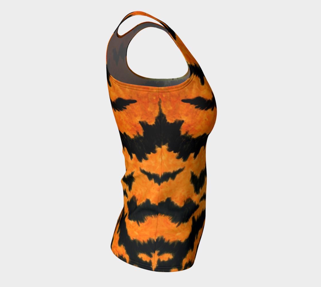 Orange tiger fur preview #8
