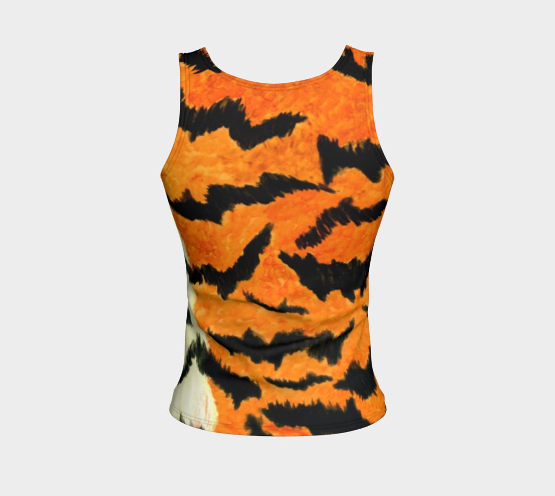 Orange tiger fur preview #2