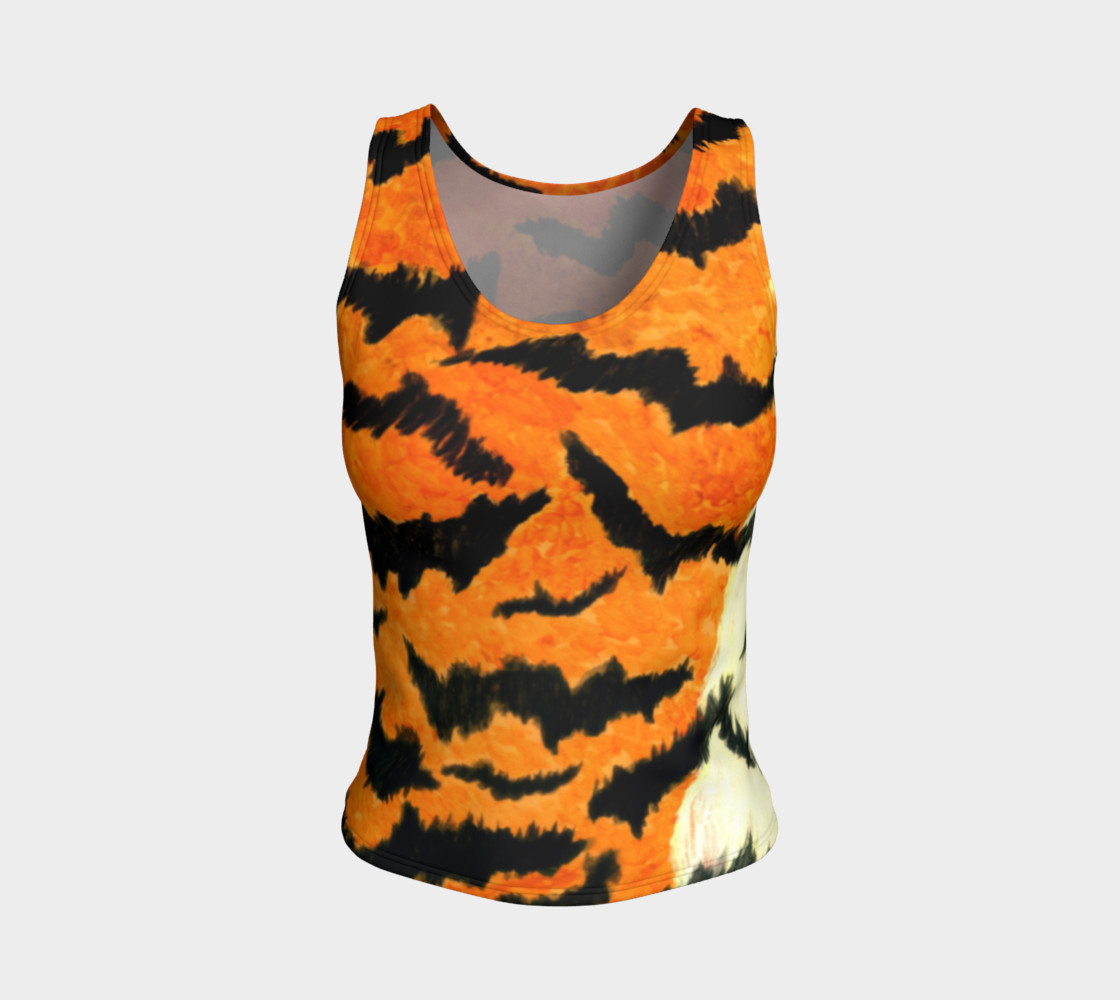 Orange tiger fur preview #1