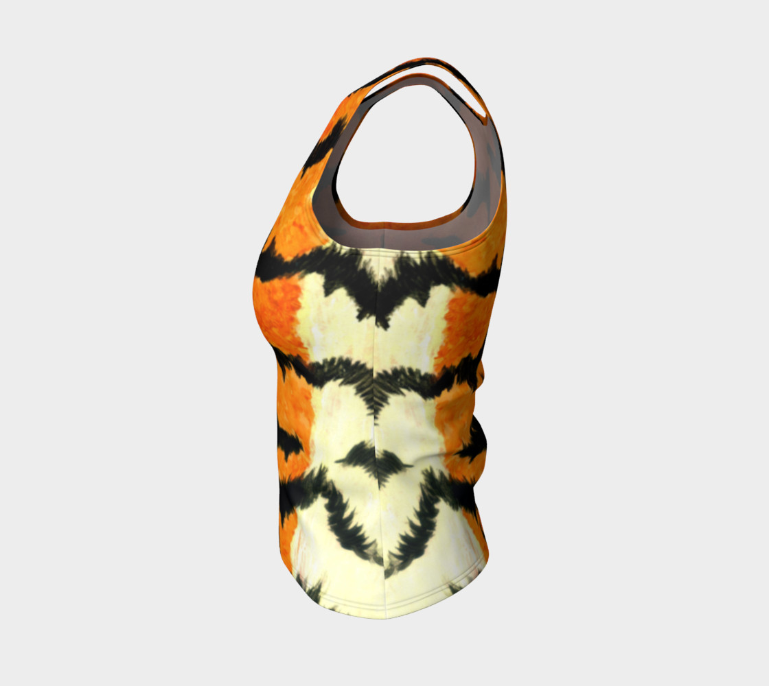 Orange tiger fur preview #3