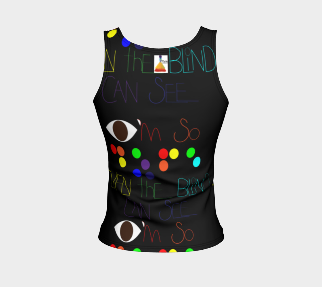 DOPE fitted tank top Miniature #3