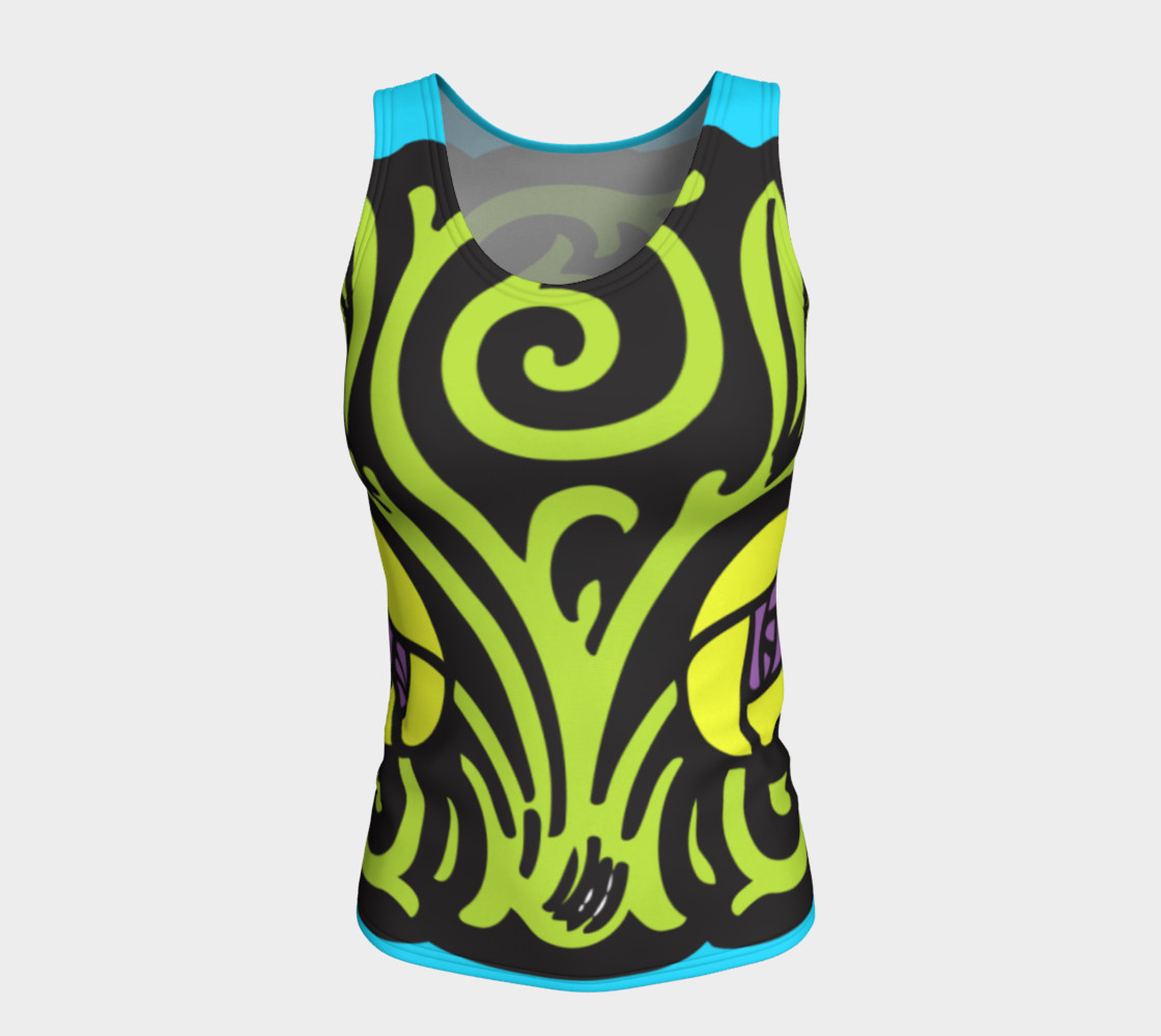 Bold and Beautiful Fitted Tank preview #5