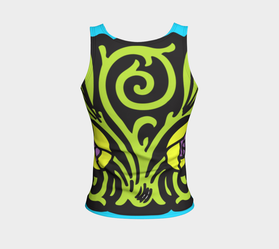 Bold and Beautiful Fitted Tank preview #2