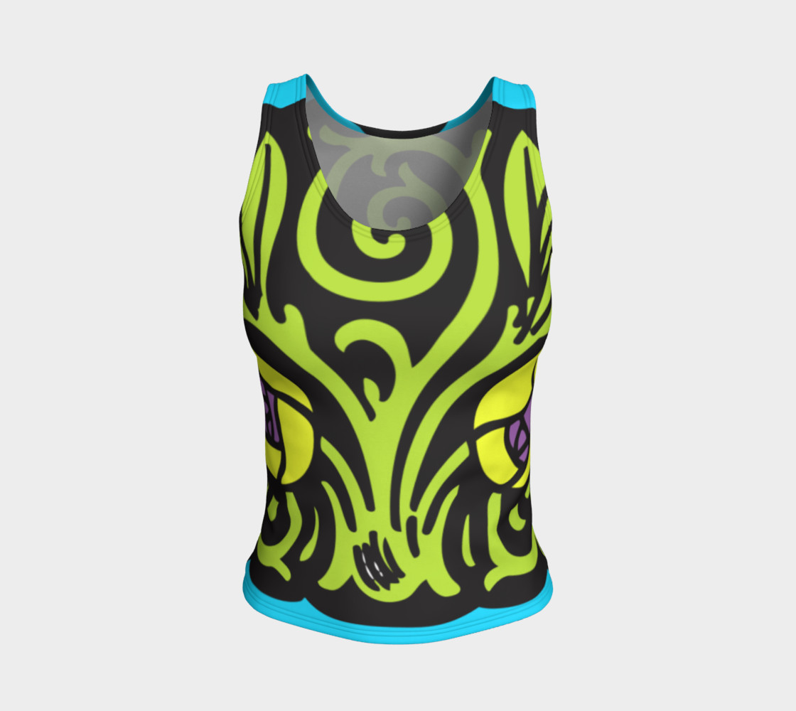 Bold and Beautiful Fitted Tank preview #1