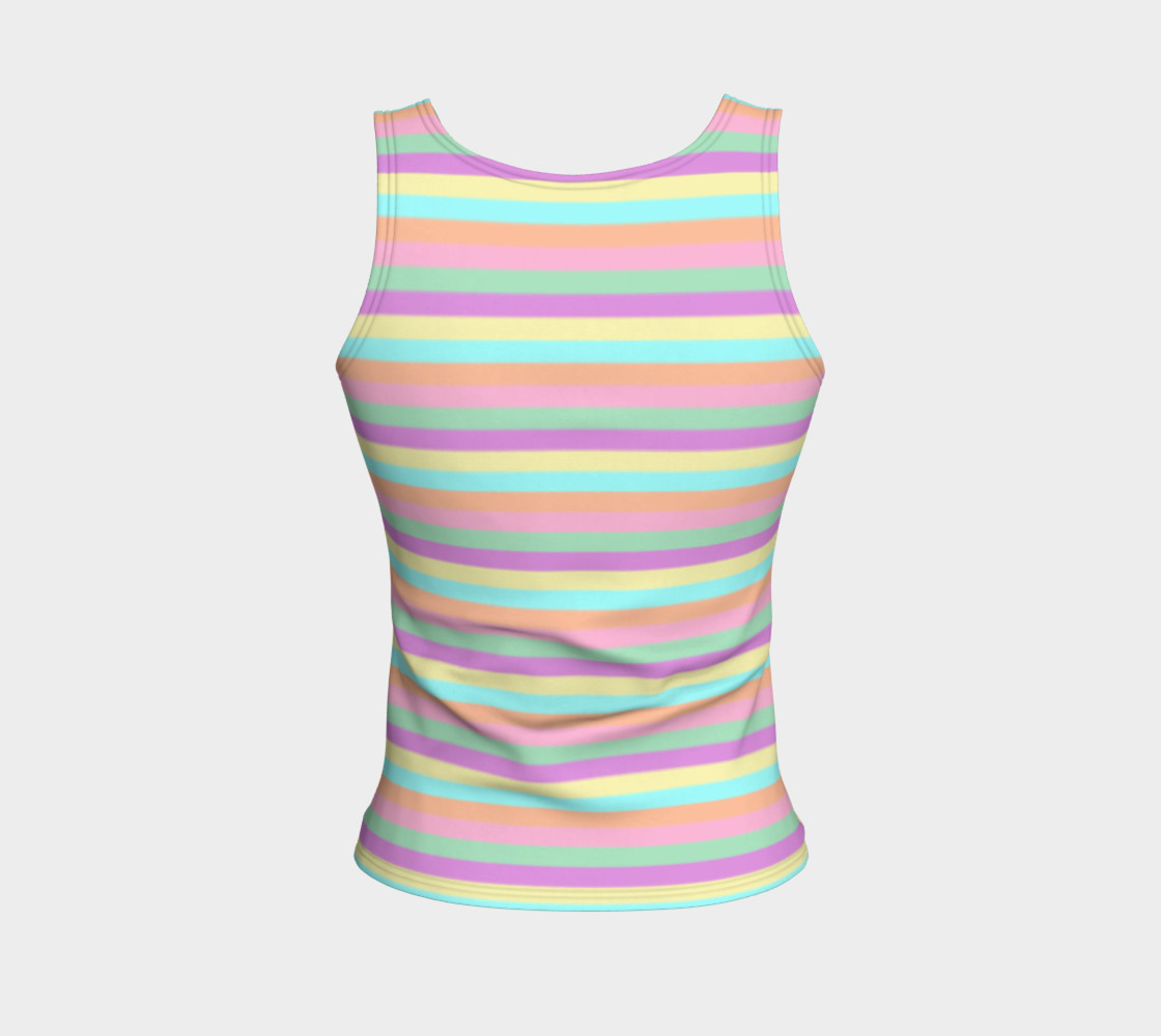 Soft Touch Fitted Tank preview #2