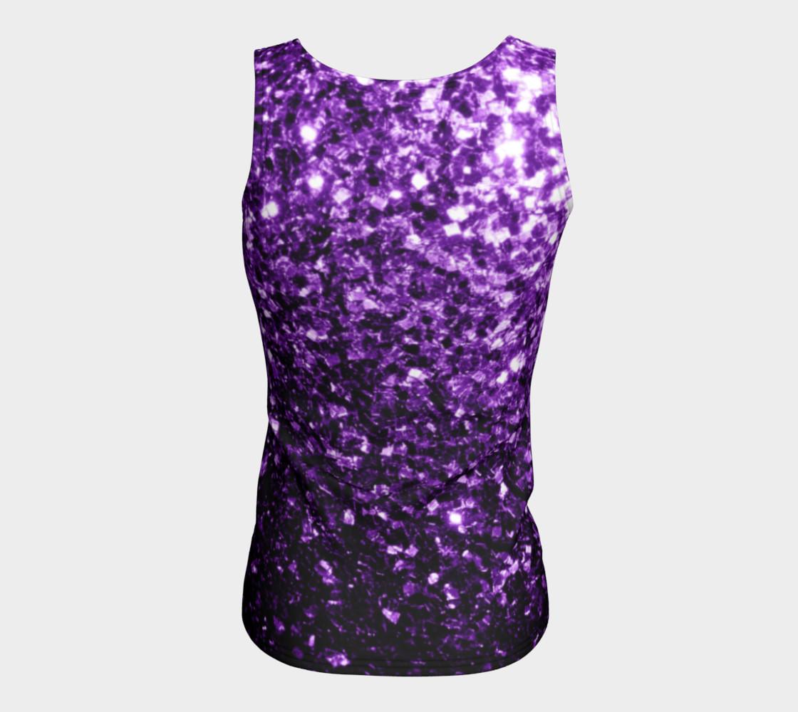 Beautiful Dark Purple glitter sparkles preview #6