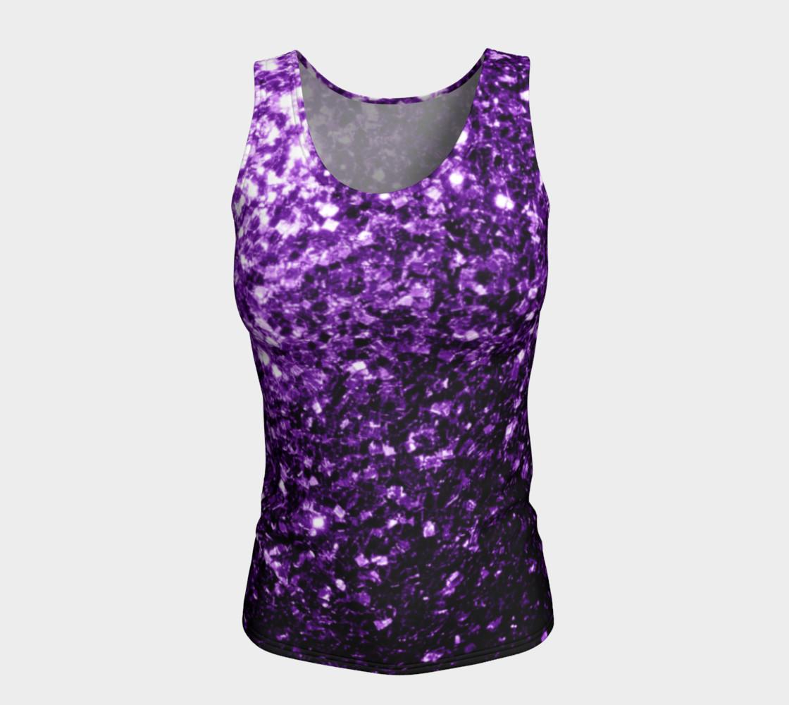 Beautiful Dark Purple glitter sparkles preview #5