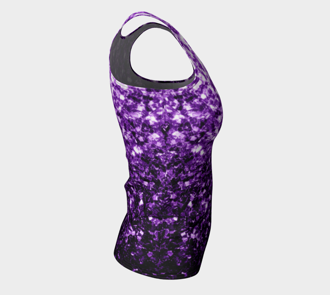 Beautiful Dark Purple glitter sparkles preview #8