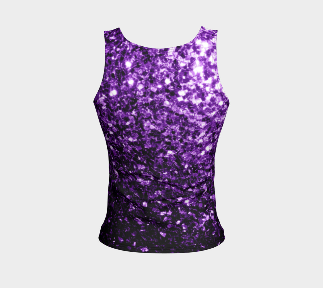 Beautiful Dark Purple glitter sparkles preview #2